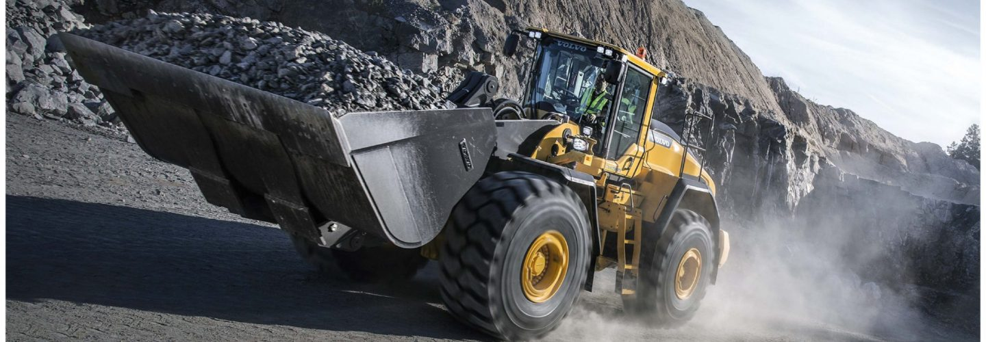 wheel loader volvo SMT