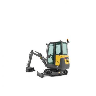 volvo find compact excavator ec15d t4f walkaround 10001000