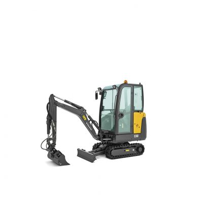 volvo find compact excavator ec18d t4f walkaround 10001000