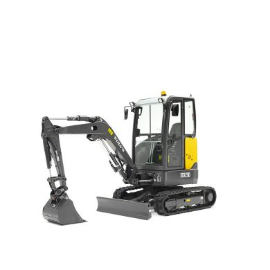 volvo find compact excavator ecr25d t4f 10001000