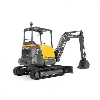 volvo find compact excavator ecr40d siiia t4 10001000