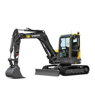 volvo find compact excavator ecr58d t3 walkaround 10001000