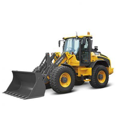 volvo find compact wheel loader l45h t4f walkaround 10001000