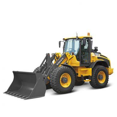 volvo find compact wheel loader l50h t4f walkaround 10001000