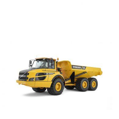 volvo find articulated hauler a25g t4f walkaround 10001000