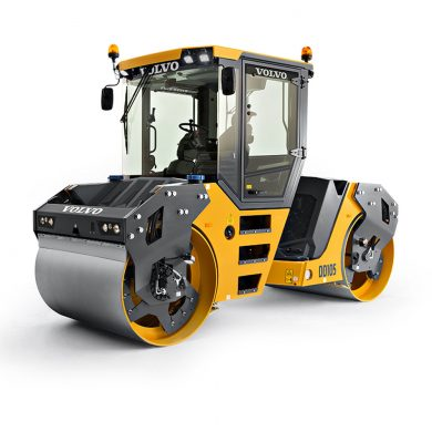 volvo find asphalt compactor dd105 t4f walkaround 10001000