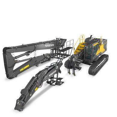 volvo find crawler excavator ec480ehr t4f walkaround 10001000