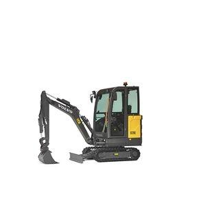 volvo find compact excavator ec15e 10001000