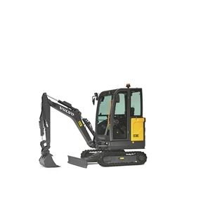 volvo find compact excavator ec18e 10001000