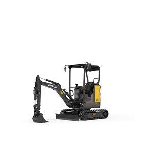 volvo find compact excavator ecr18e 10001000