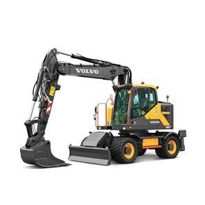 volvo find wheeled excavator ewr170e t4f 10001000