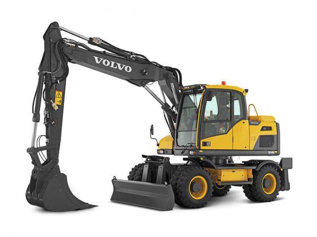 VOLVO EW140D WHEELED EXCAVATOR