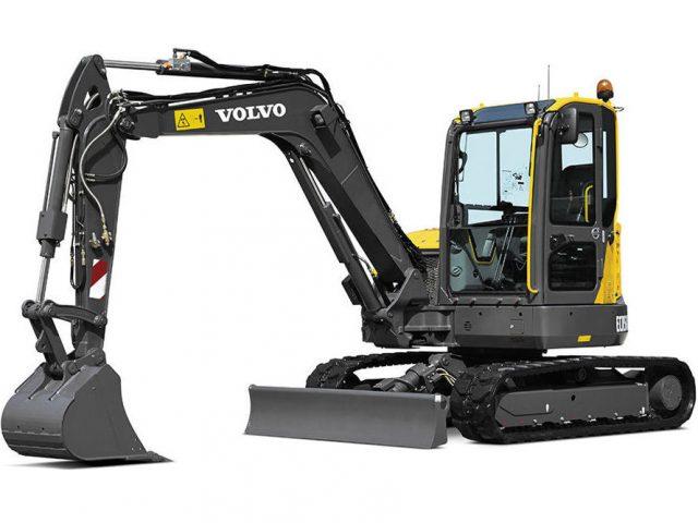 VOLVO ECR58D COMPACT CRAWLER EXCAVATOR