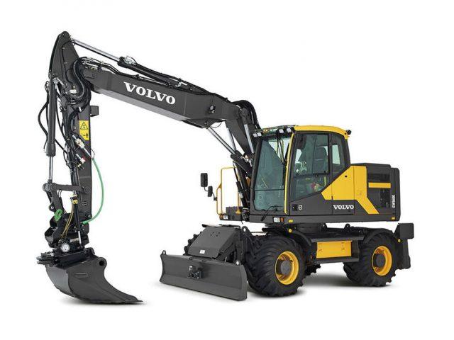 VOLVO EW160E WHEELED EXCAVATOR