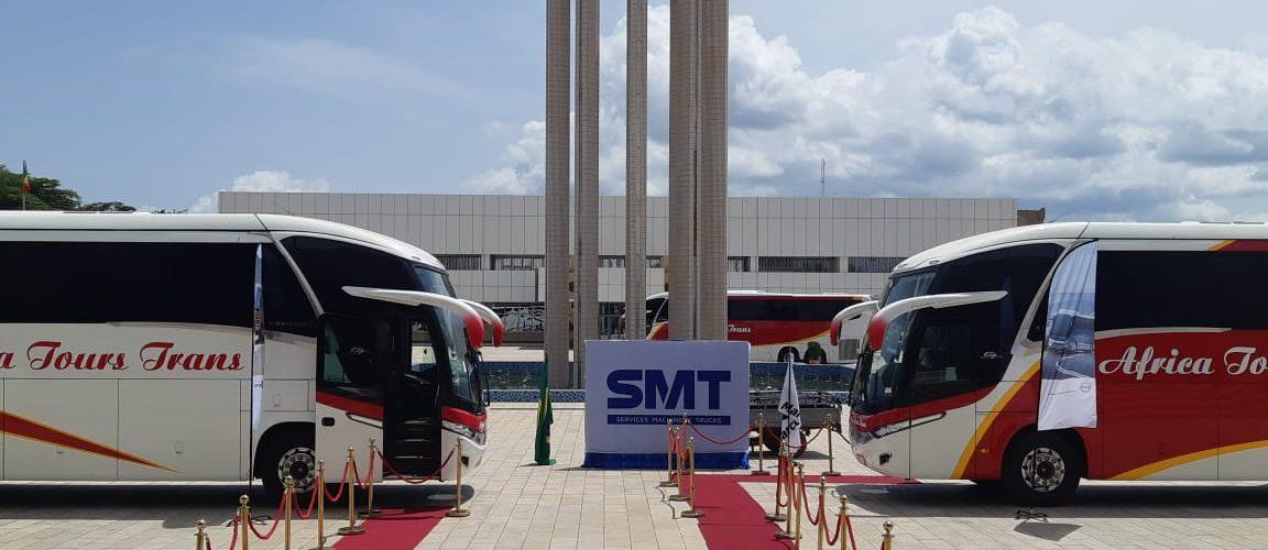 SMT Mali Volvo MArcopolo Bus
