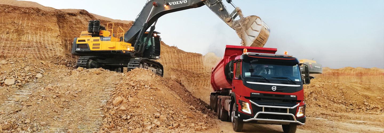 Volvo Contruction Equipment VCE EC750 FMX equipement Pelle hydraulique Excavator