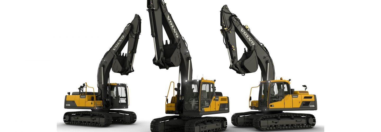 SMT Africa Volvo Excavator 20 Tonnes Pelle hydraulique Volvo Contruction Equipment VCE