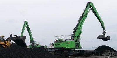 Sennebogen SMT Africa Material handling