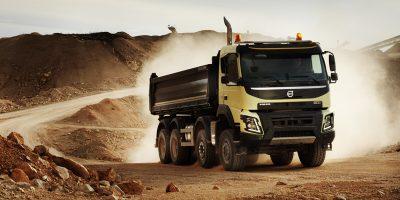 Volvo Trucks Camion SMT Africa FMX