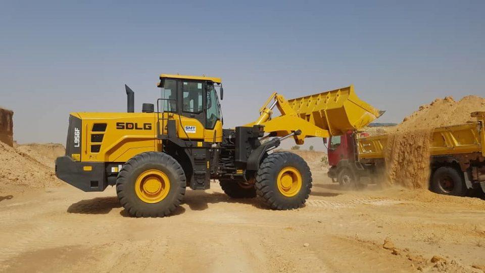 SMT Senegal | SDLG L956F Loader chargeuse SDLG machines