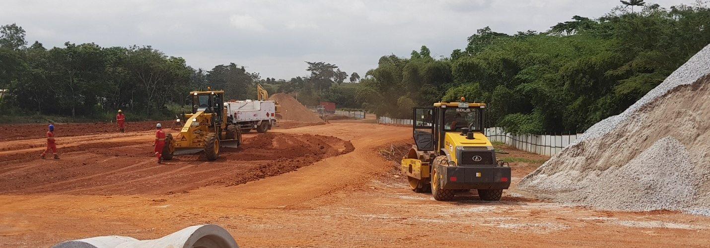 SMT Ghana Contracta Construction SDLG G9190 Grader niveleuse