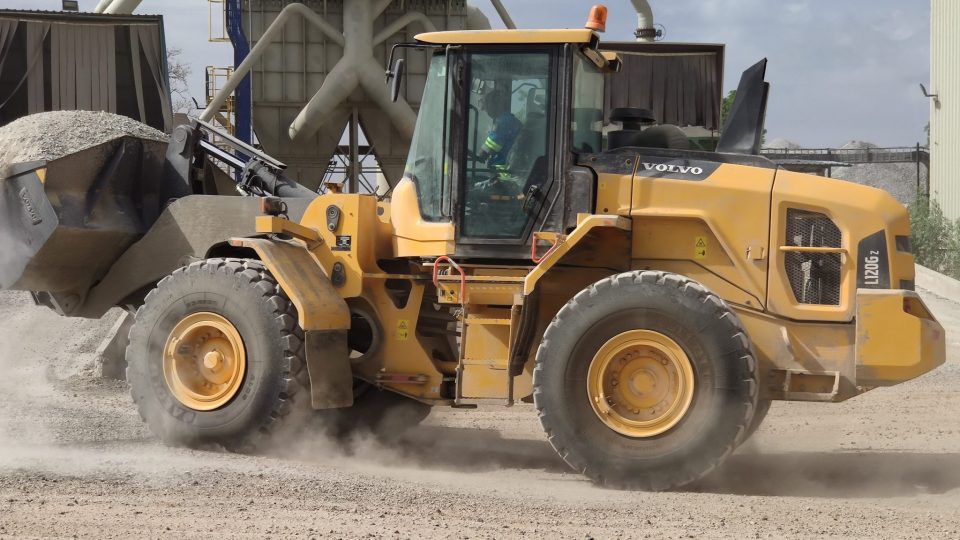 VCE - Volvo Contruction Equipment - L120Gz Volvo wheel loader / chargeuse