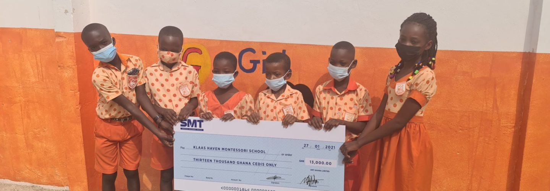 SMT Ghana - scholarship students