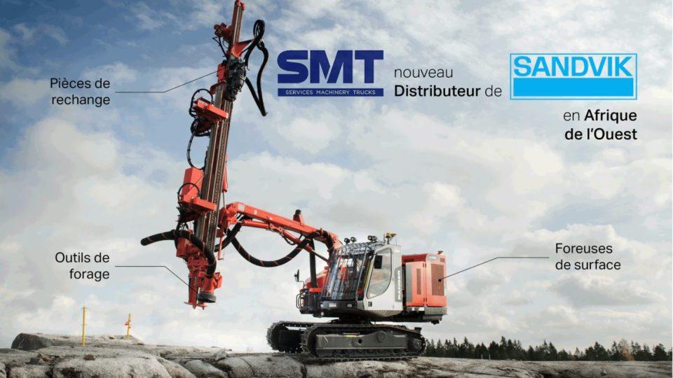 SMT - Sandvik - Partenariat