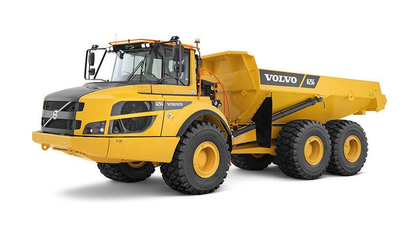 Volvo knikdumper A25G technische specificaties