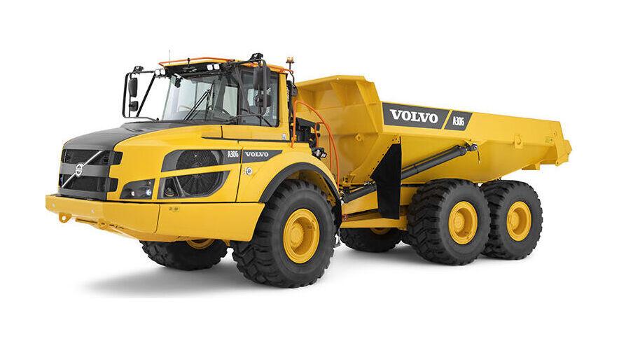 Volvo knikdumper A30G technische specificaties