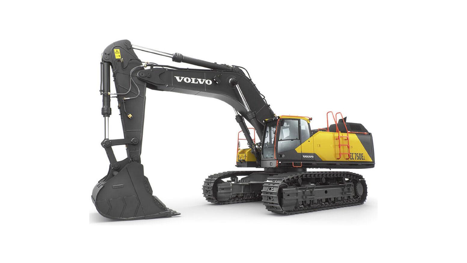 Productiviteitsverhoging met Volvo EC750E graafmachine - SMT