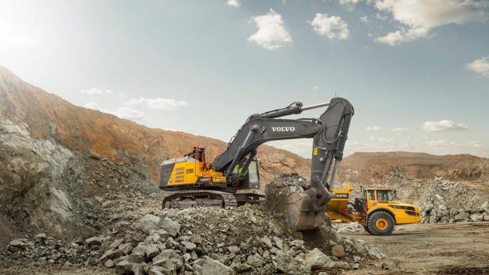 Volvo Construction Equipment - graafmachines