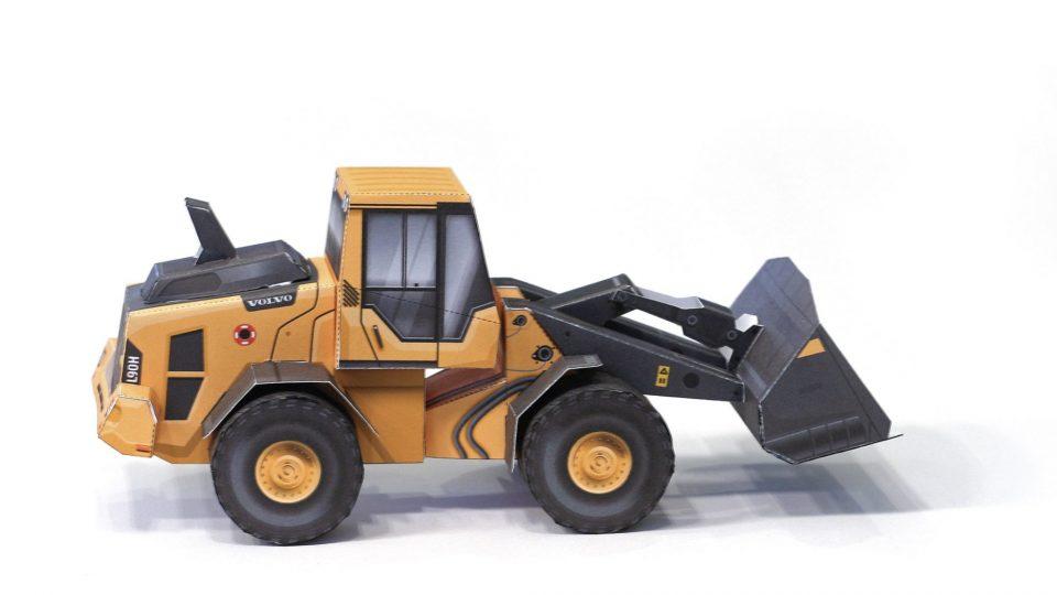 Construisez votre propre chargeuse sur pneus L90H de Volvo