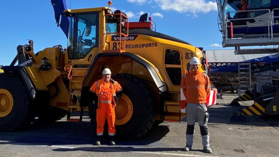 Peter et Eric, des patrons Ceel chez Euroports