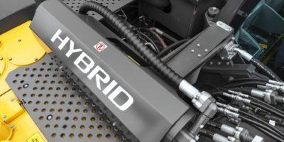 Volvo EC350E Hybrid