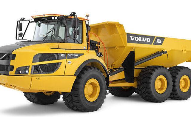 VOLVO A30G - KNICKGELENKTER DUMPER
