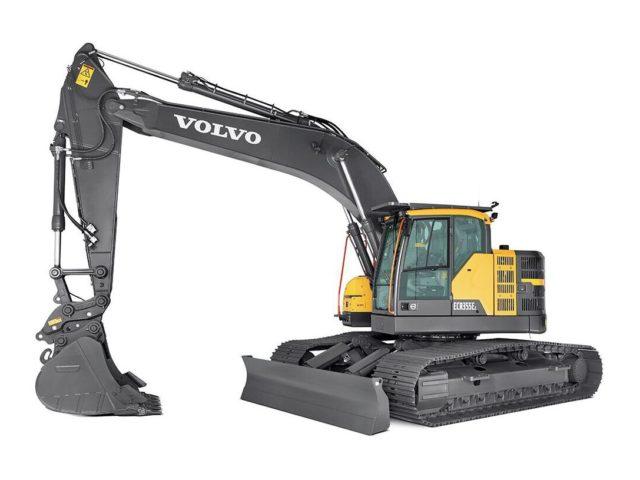 VOLVO ECR355E - GRAAFMACHINE OP RUPSEN