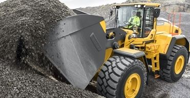 volvo show attachment wheel loader loader buckets 23241200