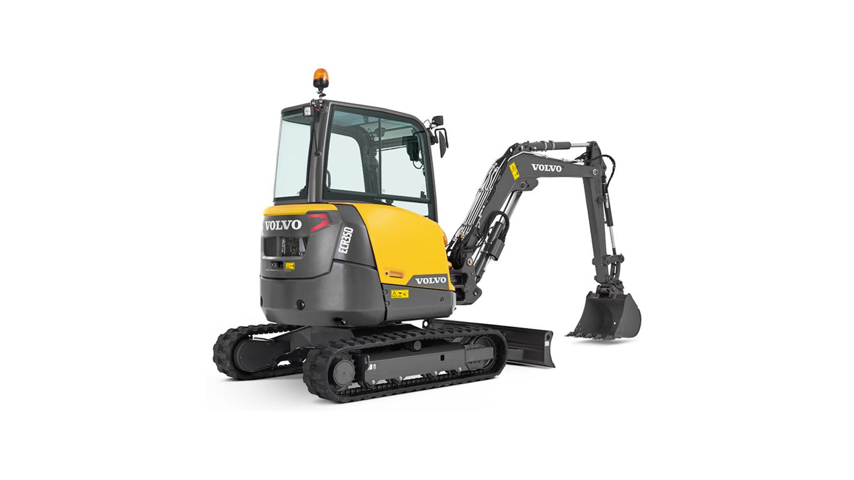 mini excavator ecr35d siiia t4