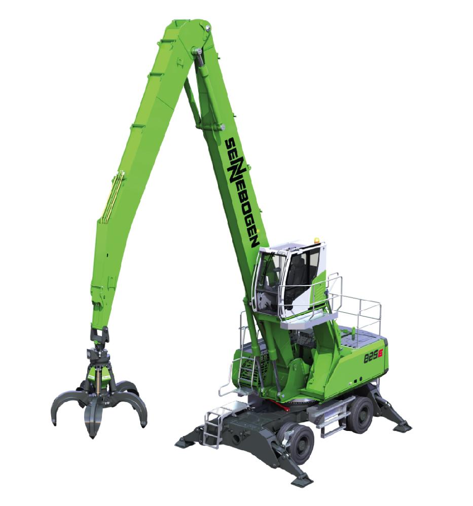 SENNEBOGEN 825 - Material handling machine - makes work more enjoyable - SMT