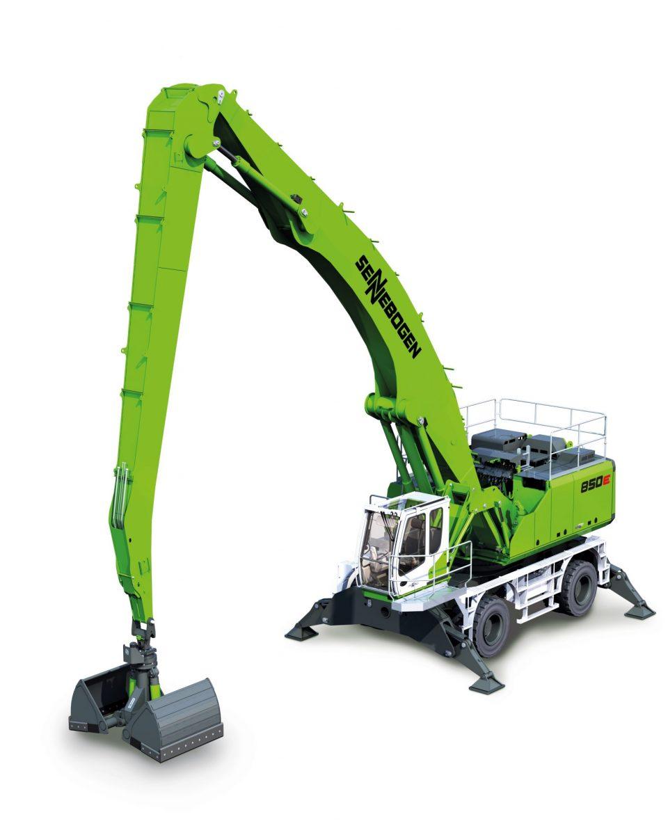 SENNEBOGEN 850 - Crawler handling machine - highlights of the machine - SMT