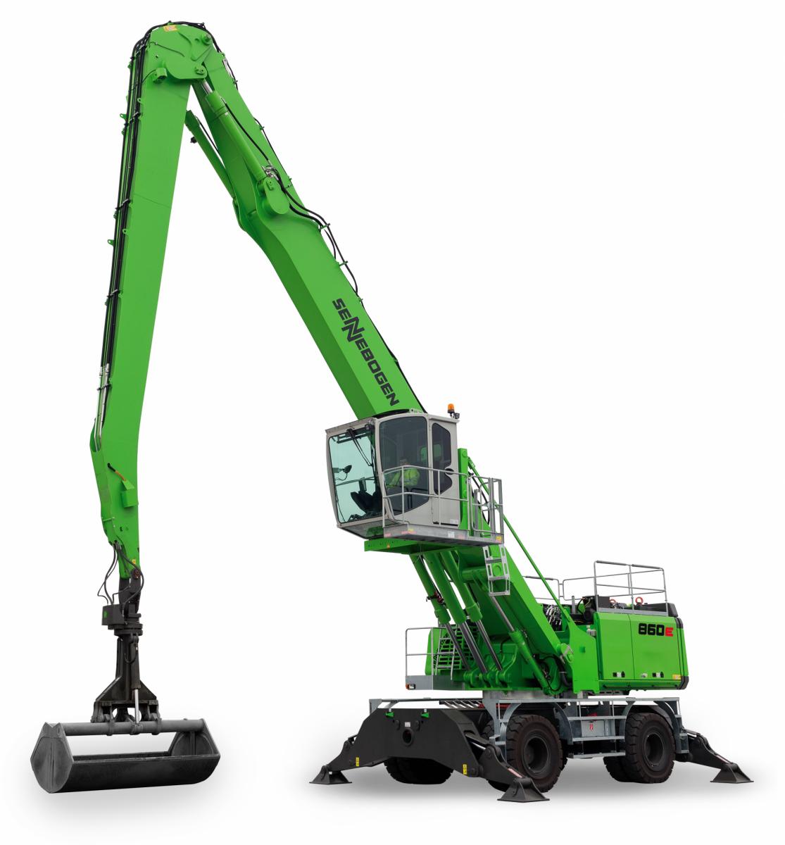 Sennebogen Mobile Material Handling Machine 860E model- SMT