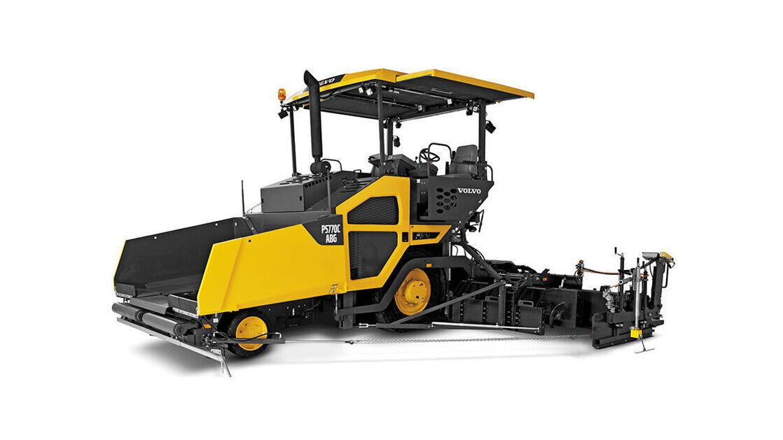 Volvo asfalteermachine P5770C ABG - SMT