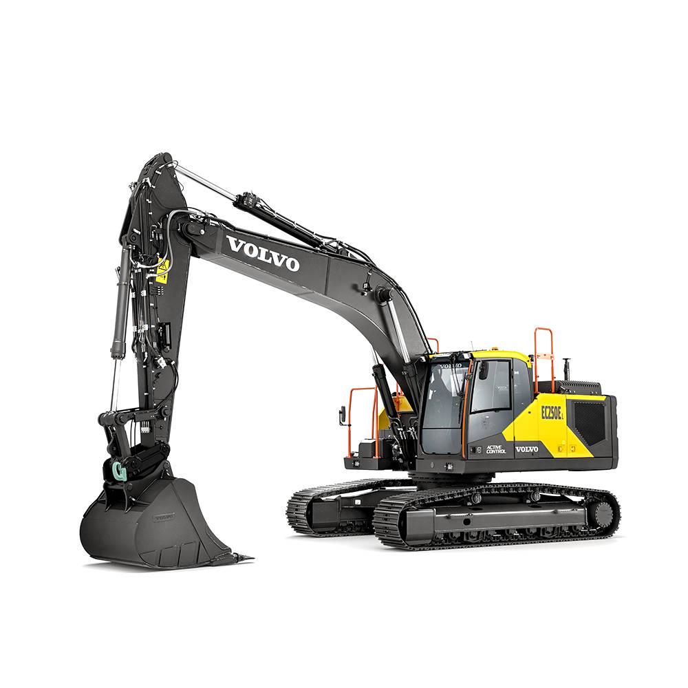 volvo find crawler excavator ec250 e d8m 10001000