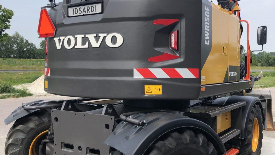 Volvo EWR150E met dig assist