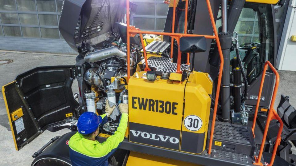 Volvo EWR 130e onderhoud