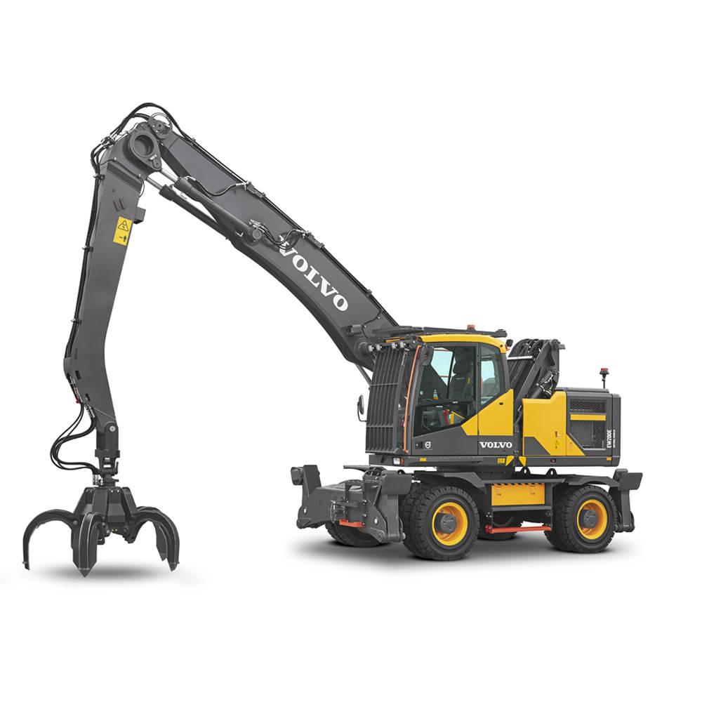 volvo find wheeled excavator ew200emh t4f sv 10001000