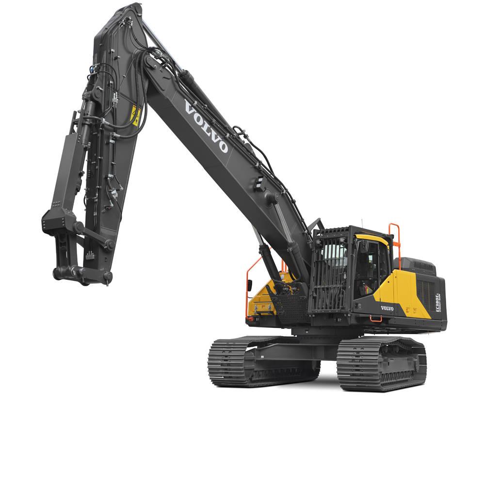 volvo find crawler excavator ec380e straight boom 10001000