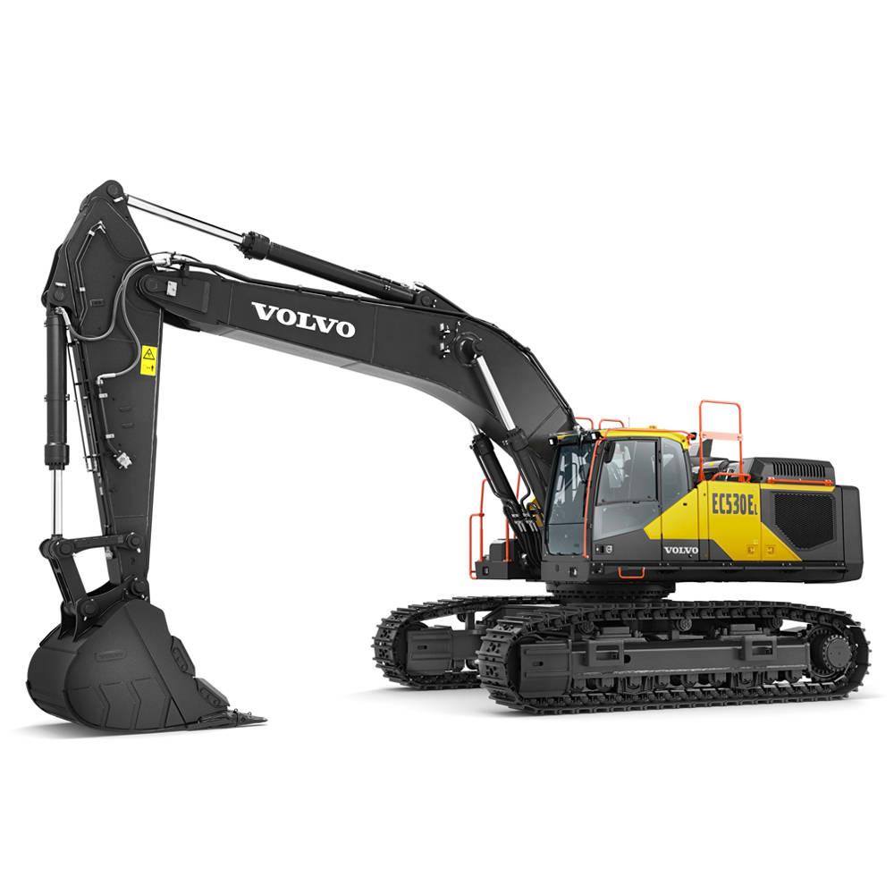 volvo find crawler excavator ec530e 10001000